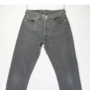Levi 501 Grey Jeans